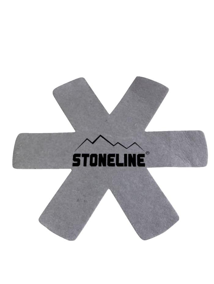Stoneline 5tlg. Vliespfannenschutz Set, Grau