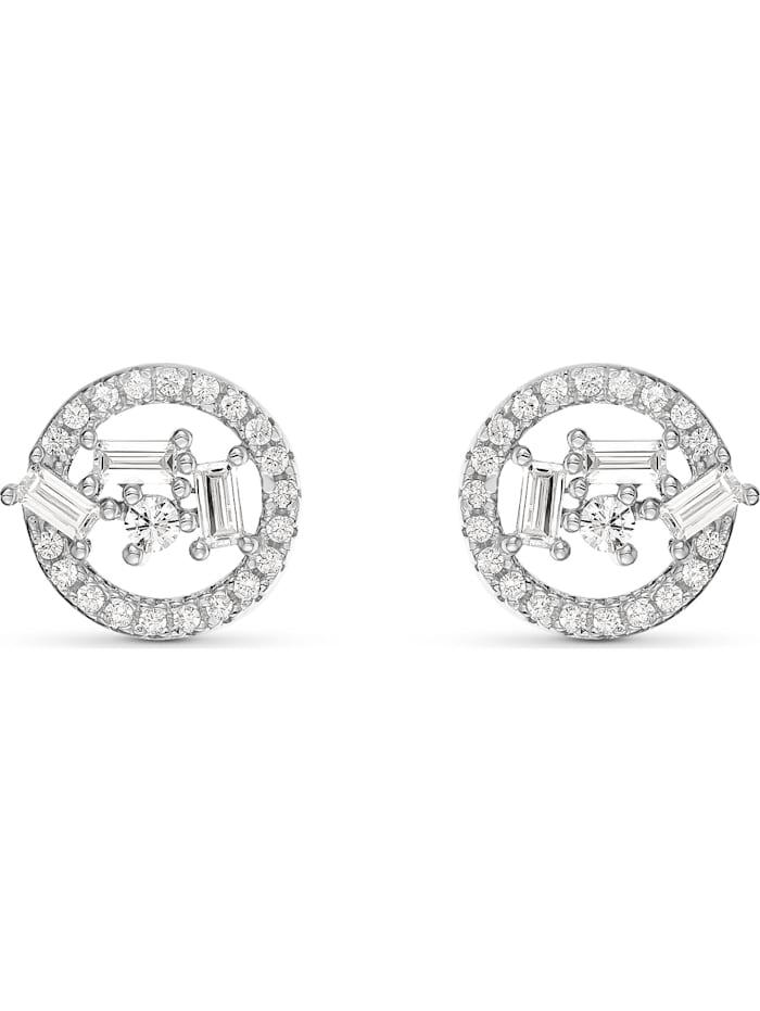 FAVS. FAVS Damen-Ohrstecker Ohrstecker aus Sterling Silber 925er Silber 98 Zirkonia, silber