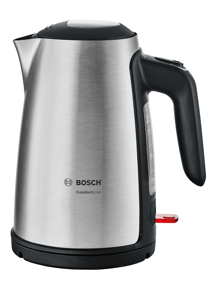 Bosch Rýchlovarná kanvica Bosch TWK6A813, Farba nehrdzavejúcej ocele/Čierna