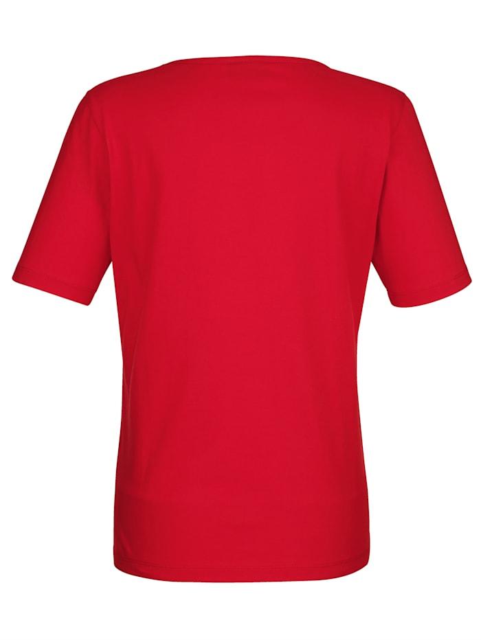 Shirt mit Ankerdruck