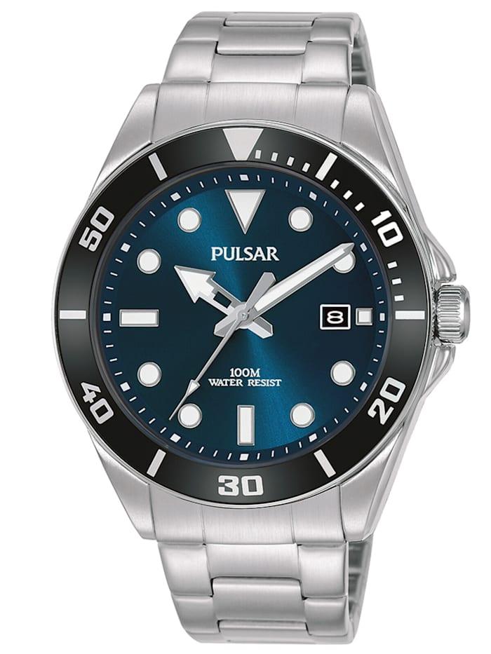 Pulsar Herren-Armbanduhr, Blau