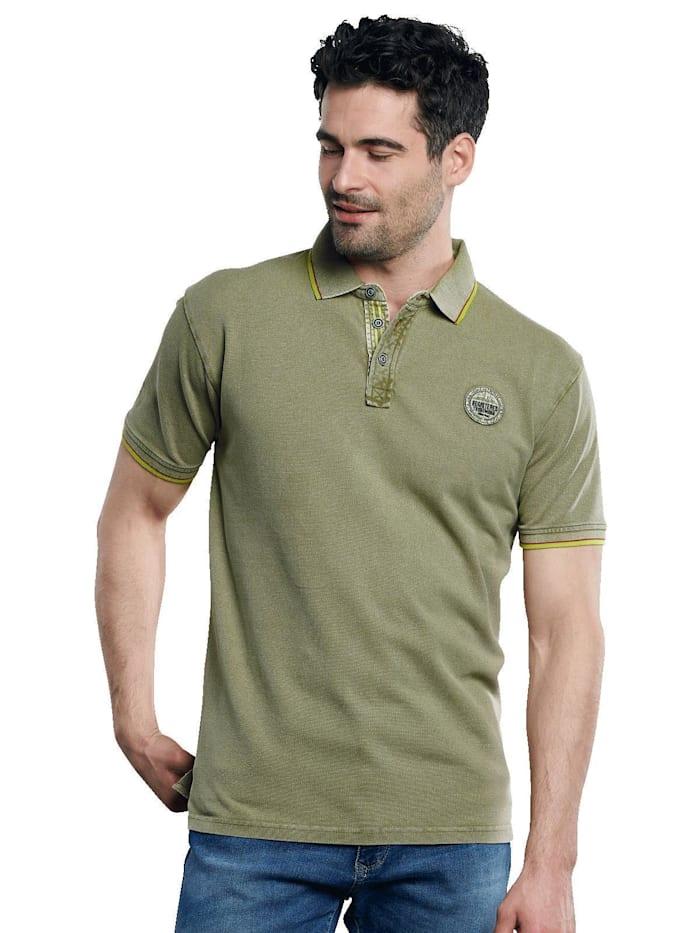 Engbers Piqué Poloshirt, Blassgrün