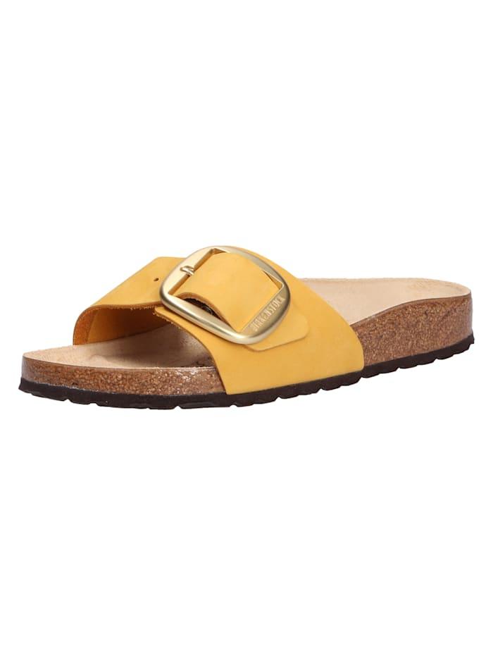 Birkenstock Pantoletten, gelb