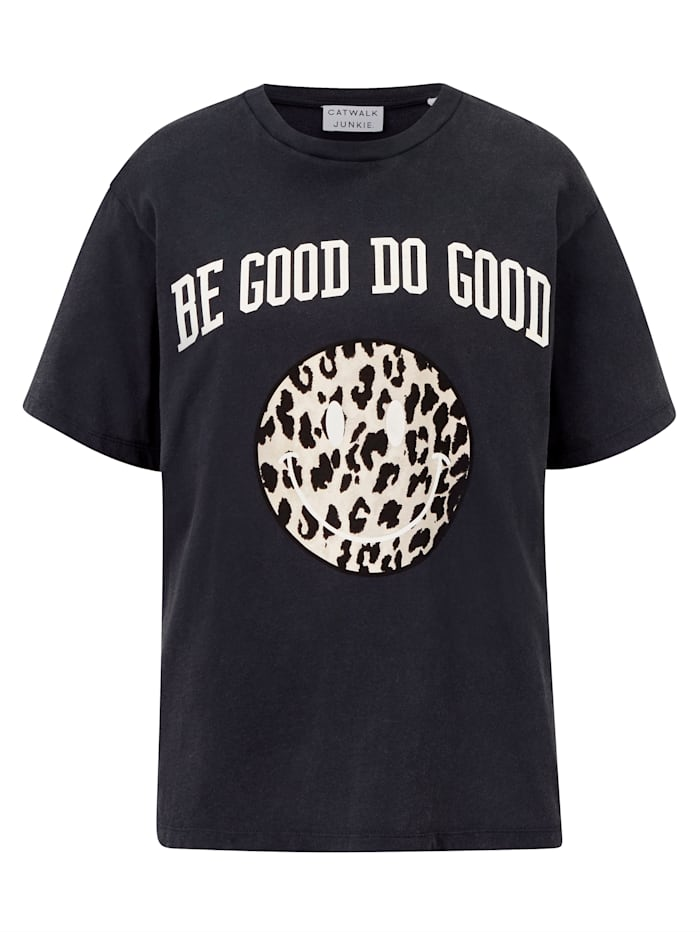 CATWALK JUNKIE T-Shirt, Schwarz