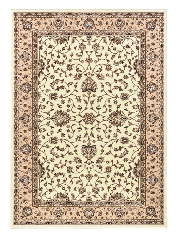 Webschatz Webteppich 'Isfahan', Creme-Weiß