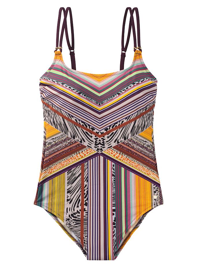 Lisca Badeanzug, mehrfarbig