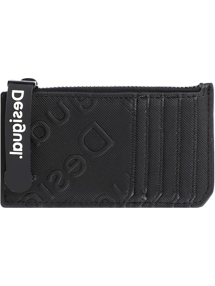 Desigual Colorama Kreditkartenetui 13 cm, negro