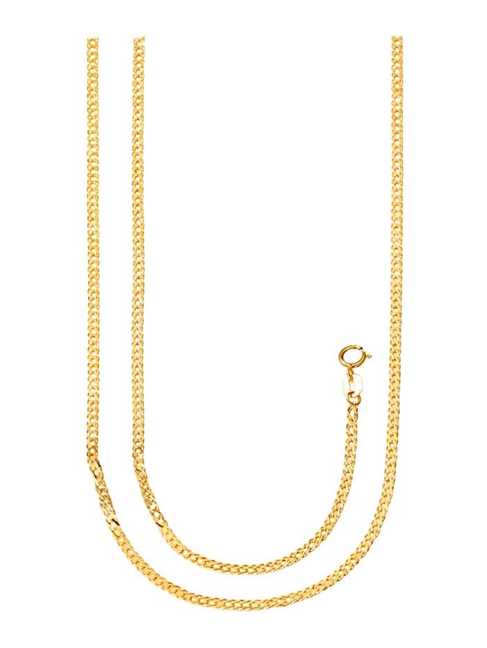 Halsband och armband, Guldfärgad