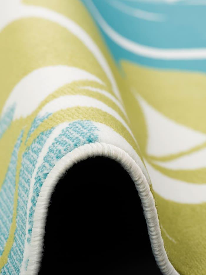 Designer Teppich Samba Blätter