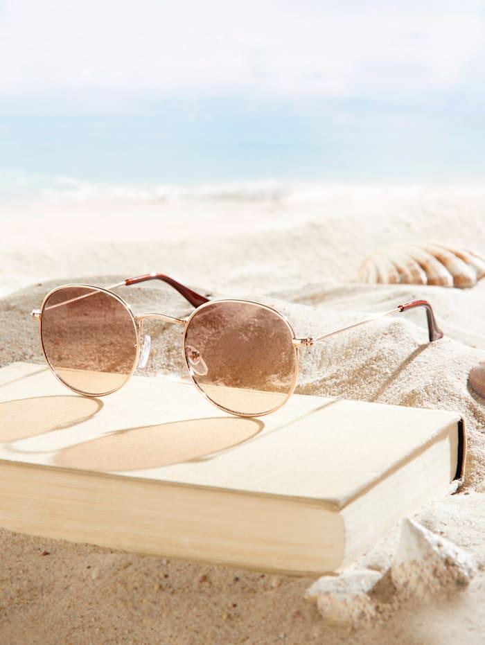 Sunglasses, Rosé Gold-Coloured