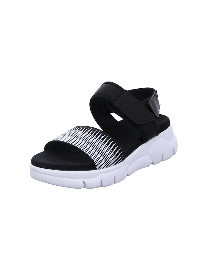 Damen-Sandale Arzignano 04, schwarz-kombi
