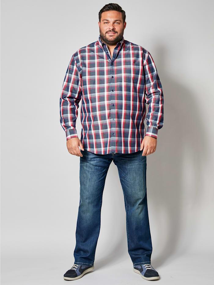 Hemd mit modischem Mustermix