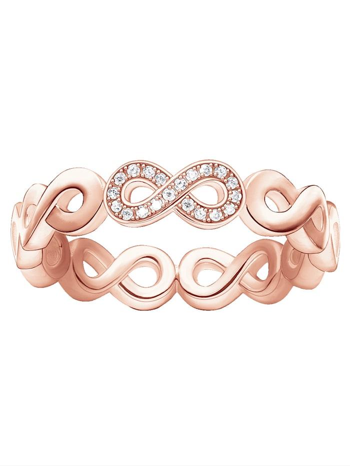 Infinity-Damenring mit Diamanten D_TR0003-923-14