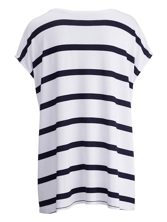 Shirt mit Zierkordel