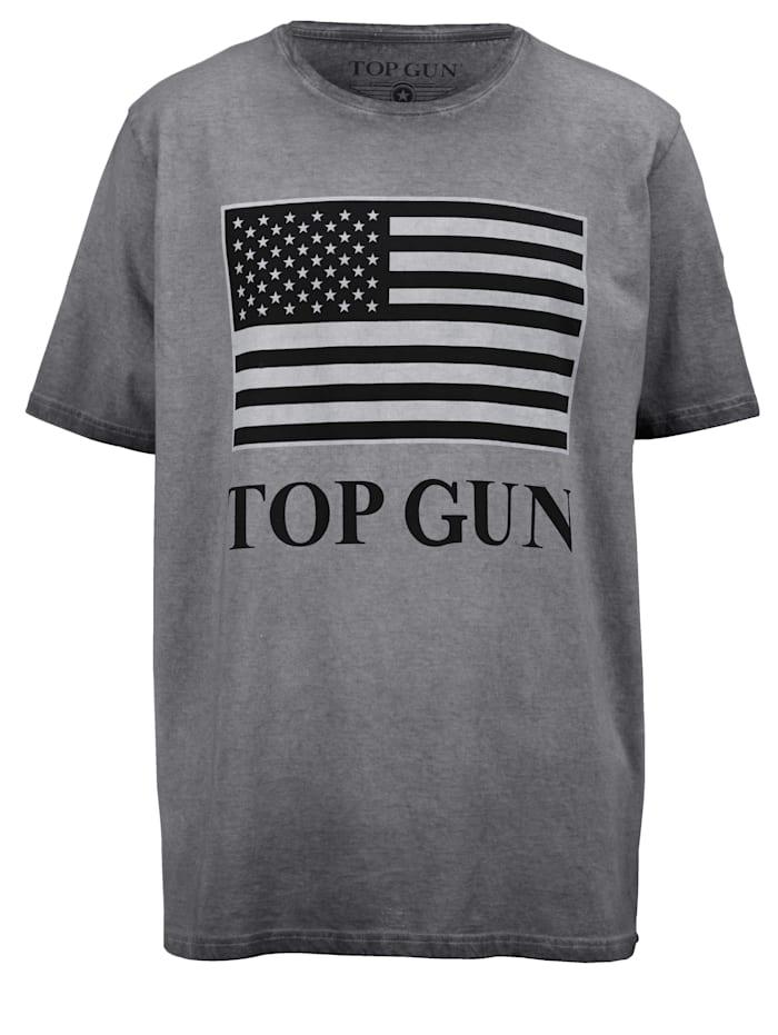 Top Gun T-shirt – TOP GUN, Grå/Ljusgrå/Svart