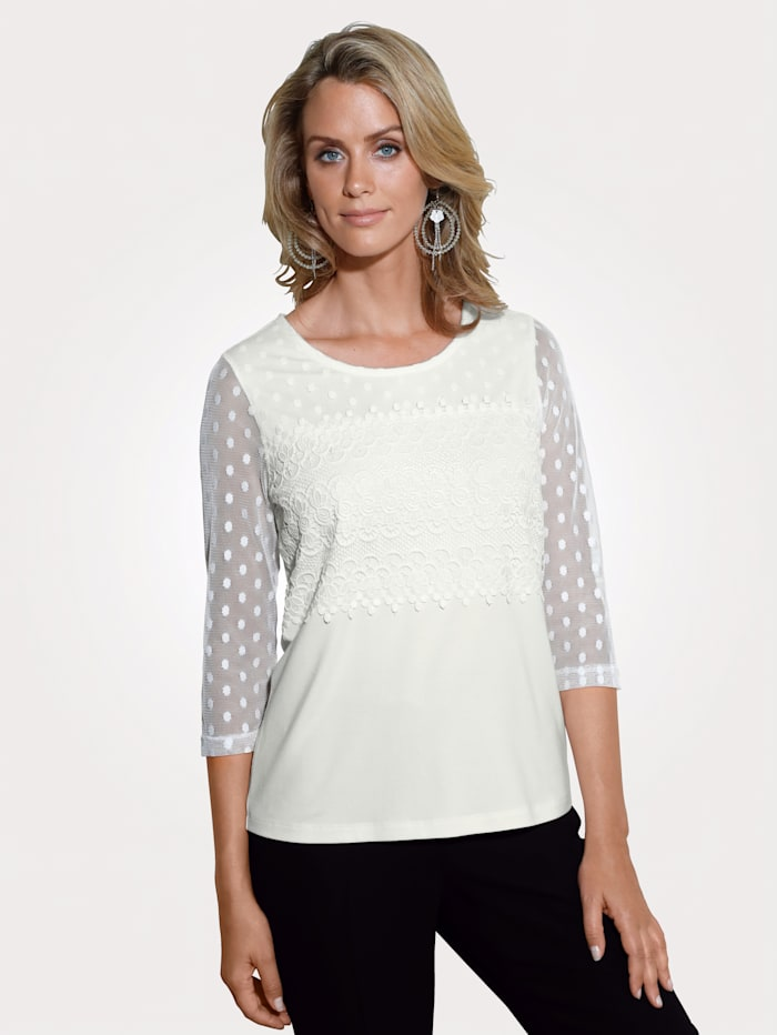 Top with lace detailing