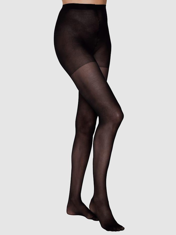 Disee Maxi-panty van zacht, soepel materiaal, Zwart