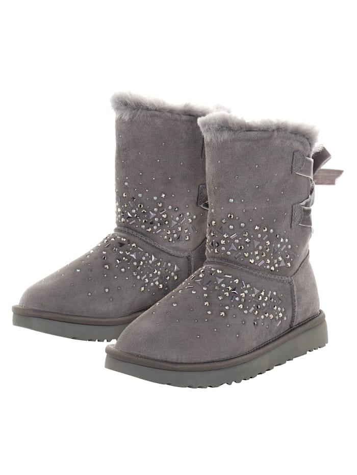 UGG Classic Galaxy Bling Short, Anthrazit