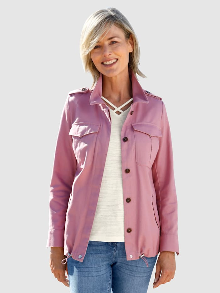 Dress In Jacke im Utilitistil, Lavendel