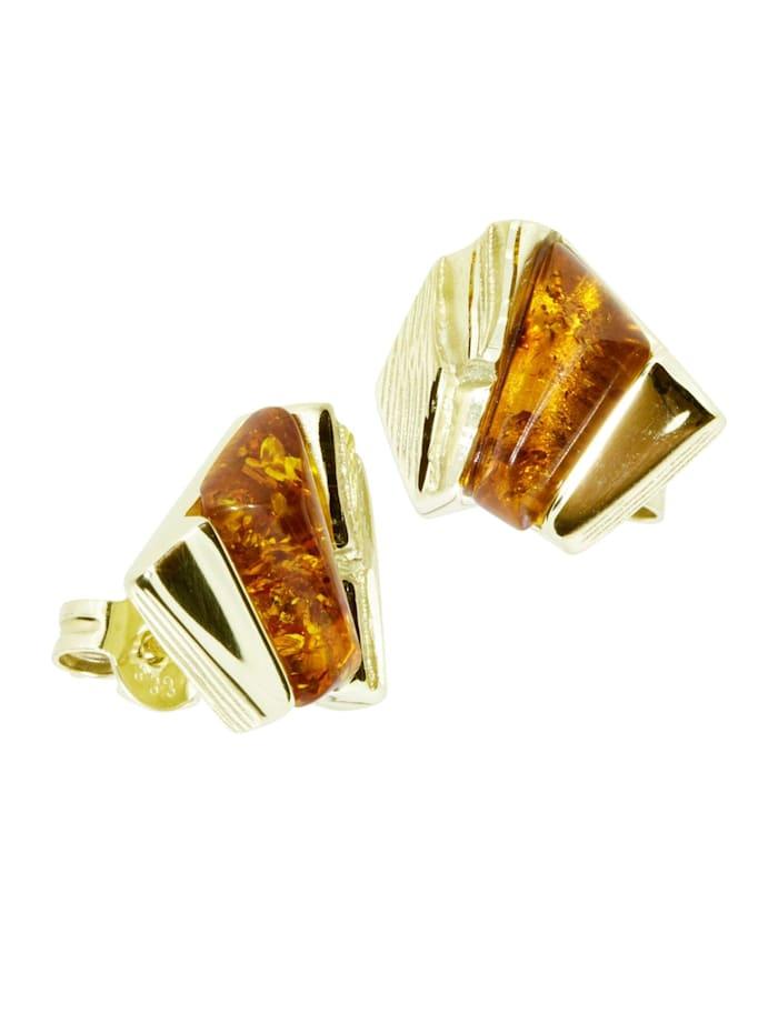 OSTSEE-SCHMUCK Ohrstecker - Mette - Gold 333/000 -, gold