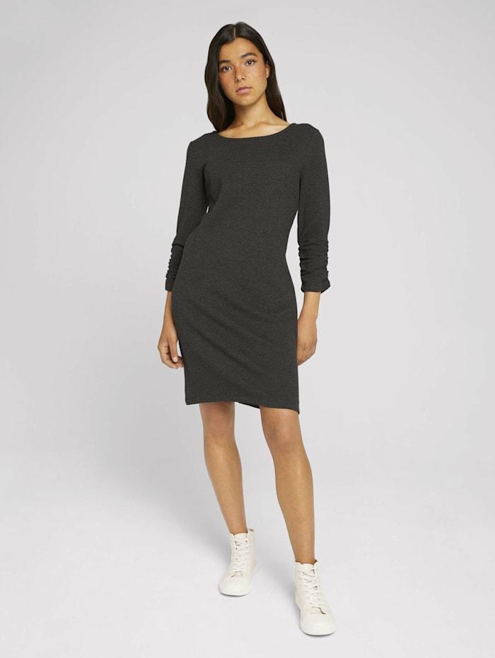 Mini Kleid in Melange-Optik