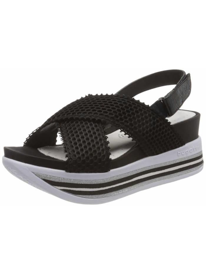 Bugatti Sandalen/Sandaletten, schwarz