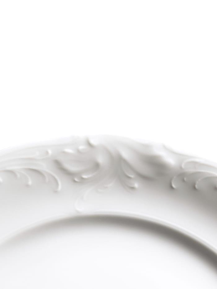 Kristoff Kaffeservis i 18 delar, enfärgad vit