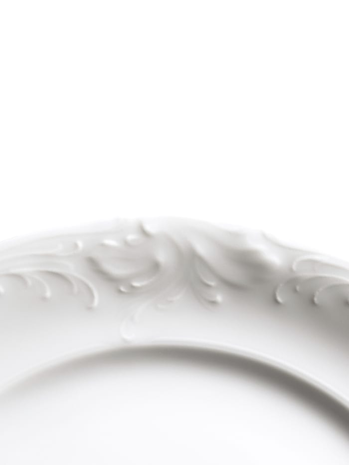 Kristoff Kaffeservise, ensfarget hvit