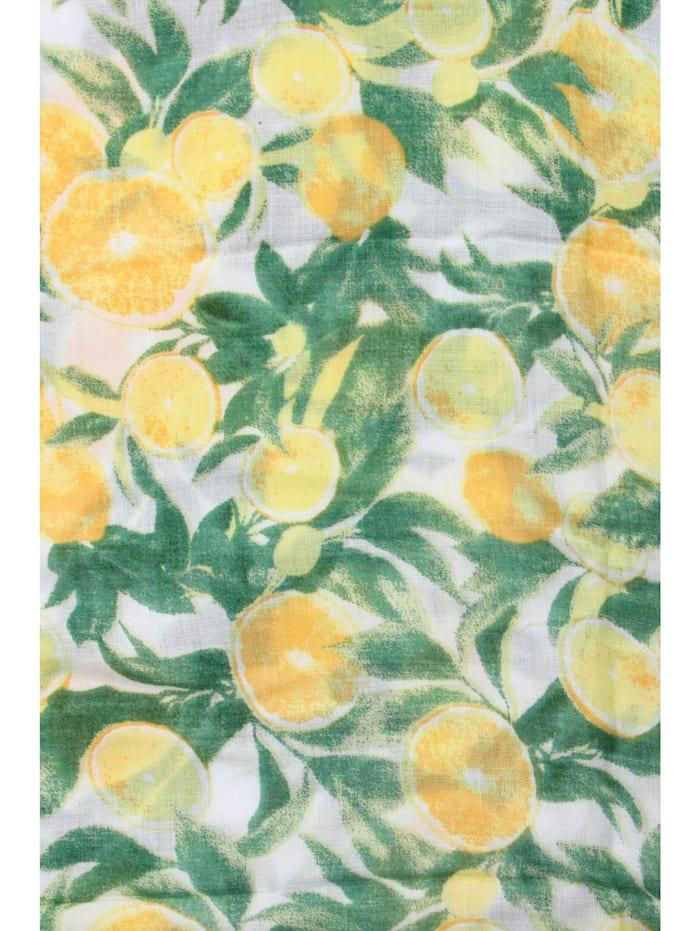 Schal Zitrone reines Naturmaterial