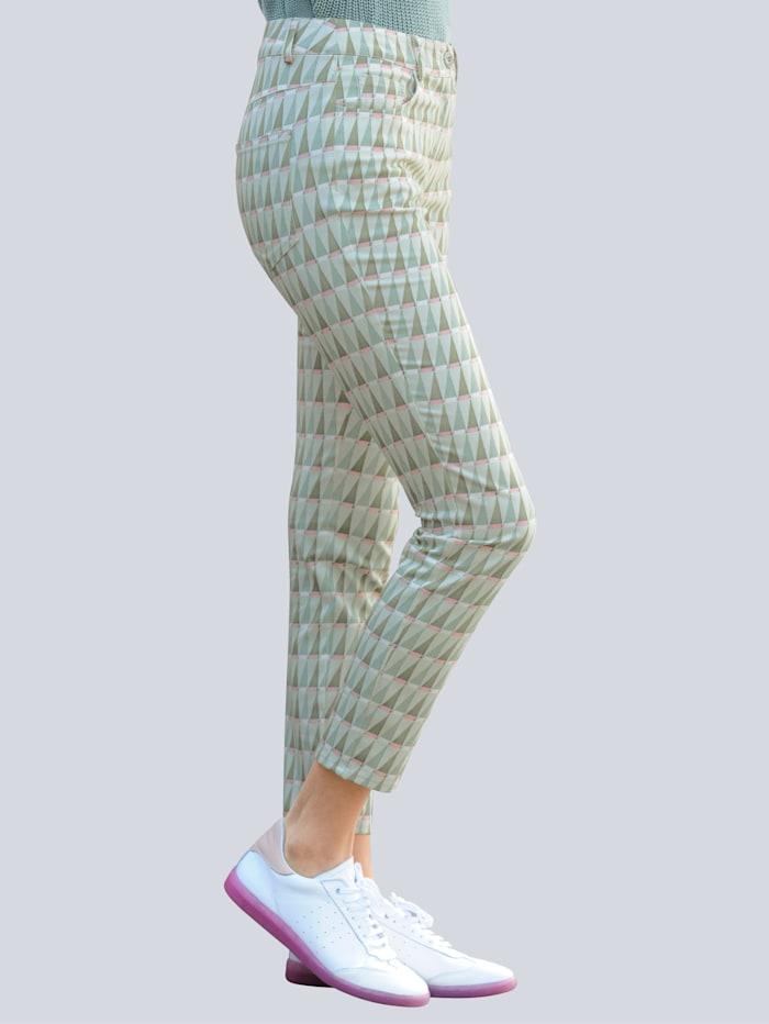 Hose mit grafischem Print