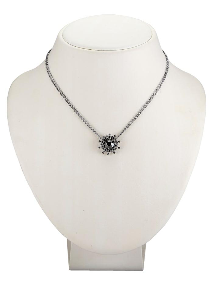 Collier mit schwarzen Steinen 5450543615479