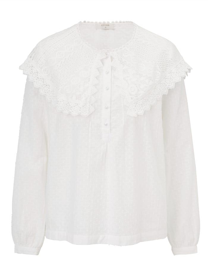 Cream Bluse, Weiß