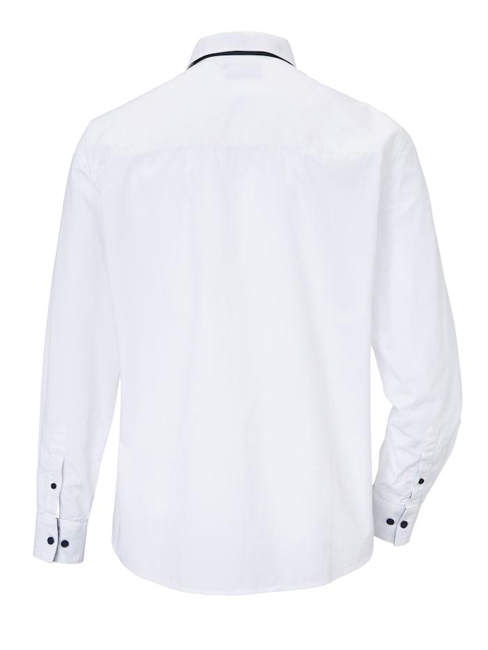 Hemd mit platziertem Druck im Vorderteil