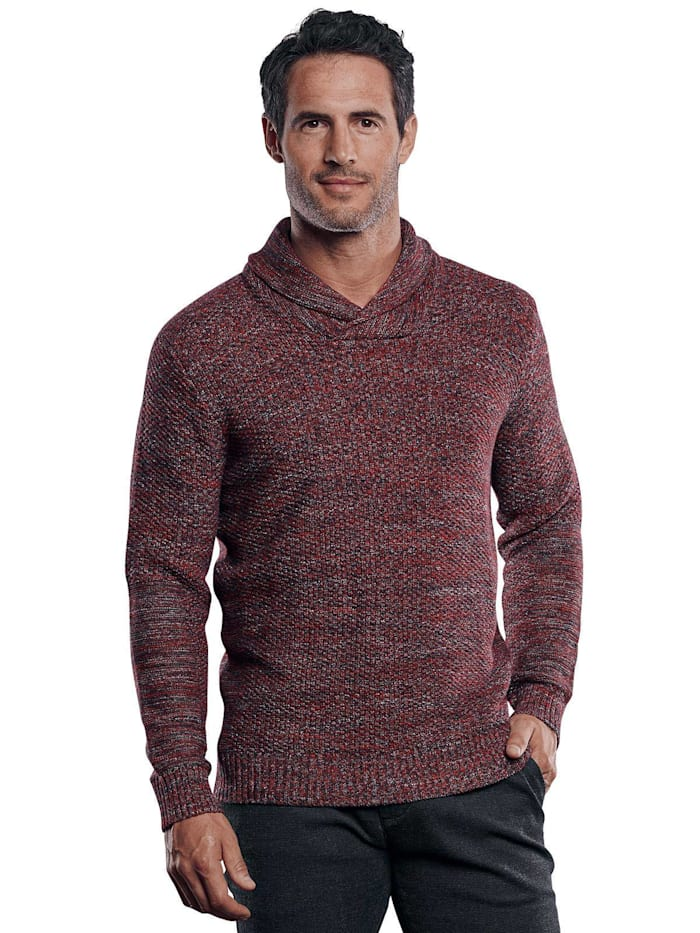 Engbers Pullover, Weinrot