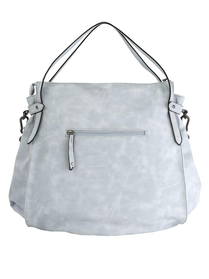 Handbag with fringes