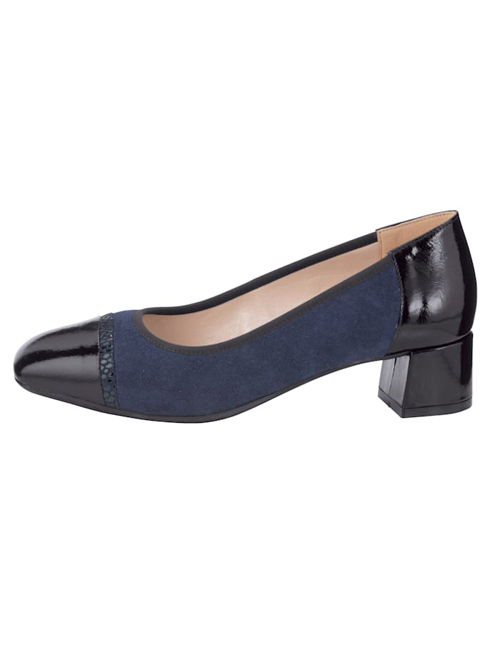 Pumps mit Zier-Element am Blatt