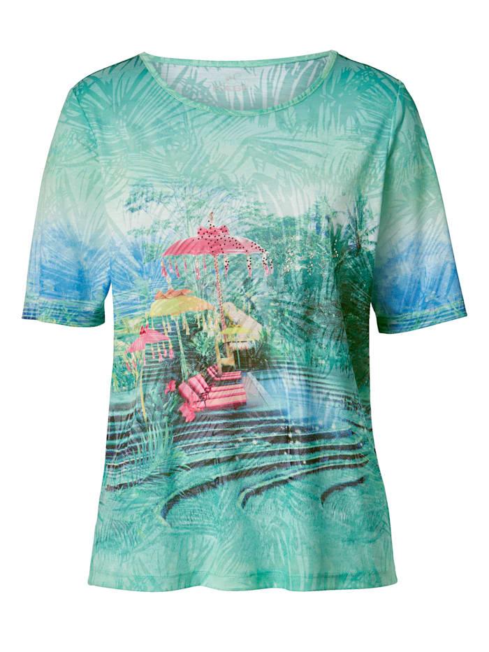 Shirt mit Ausbrennerware