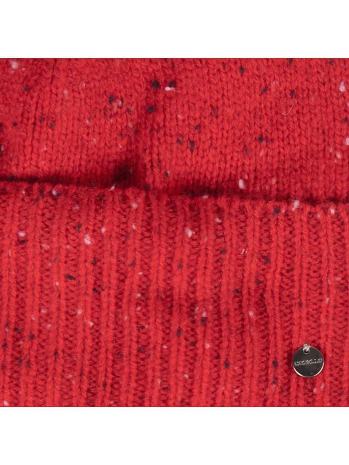 Kuschelwarme Strickmütze aus Wolle und Kaschmir