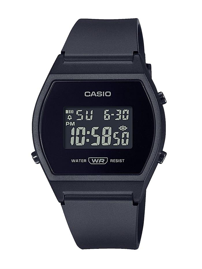 Casio Damen-Chronograph LW-204-1BEF, Schwarz