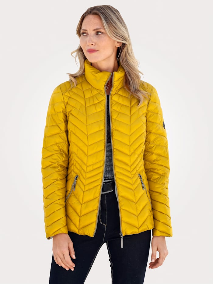 Quilted Jacket with a flattering quilted pattern