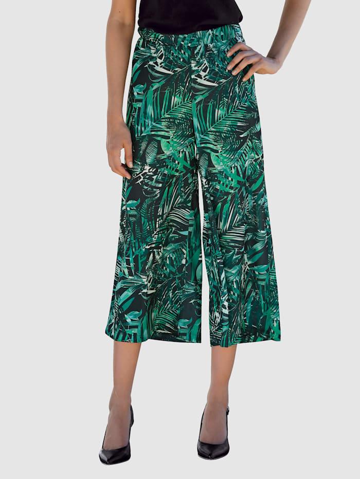 Jupe-culotte à imprimé mode brillant
