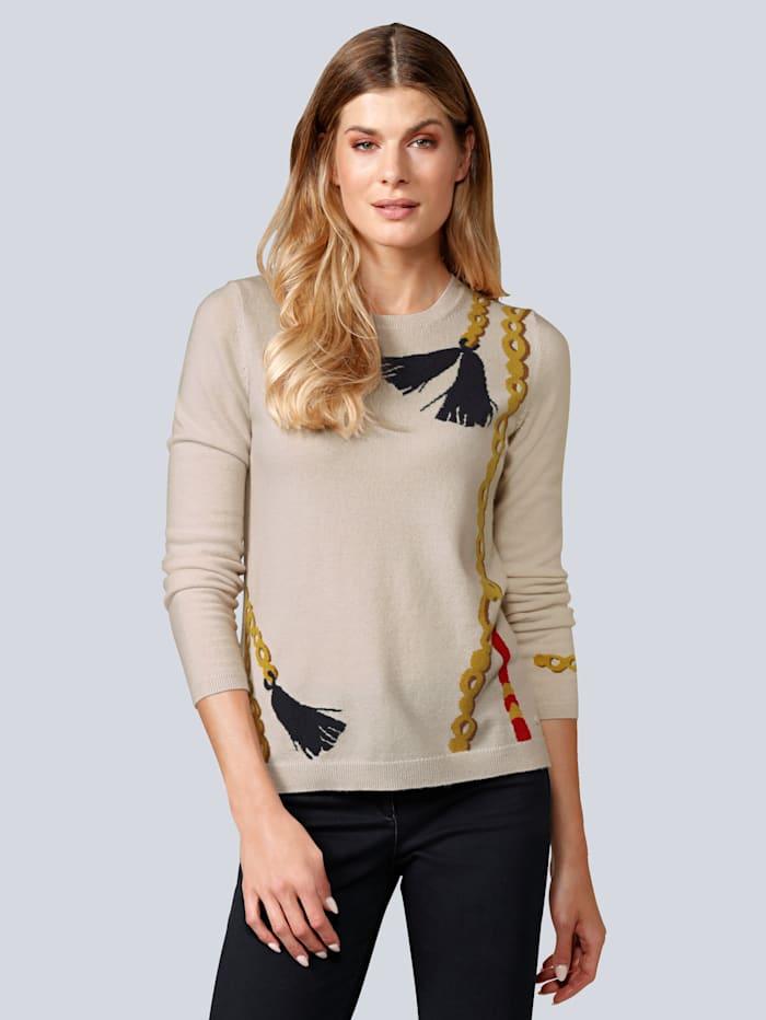 BRAX Pullover aus reinem Kaschmir, Off-white