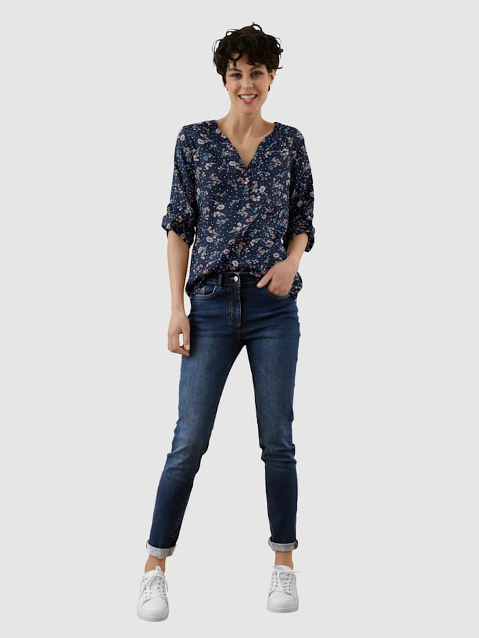 Jeans i behagelig materiale