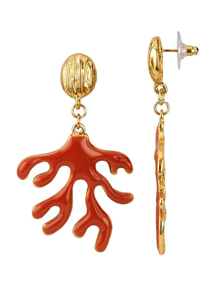 Koralliaiheiset korvakorut, Punainen