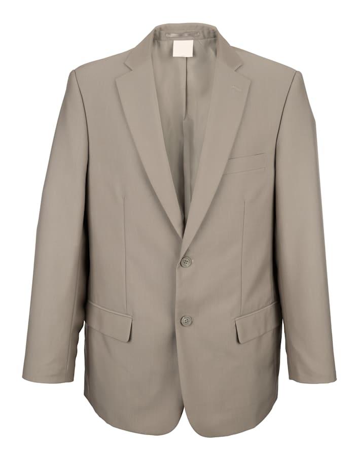 Roger Kent Veste de costume à col tailleur, Mastic