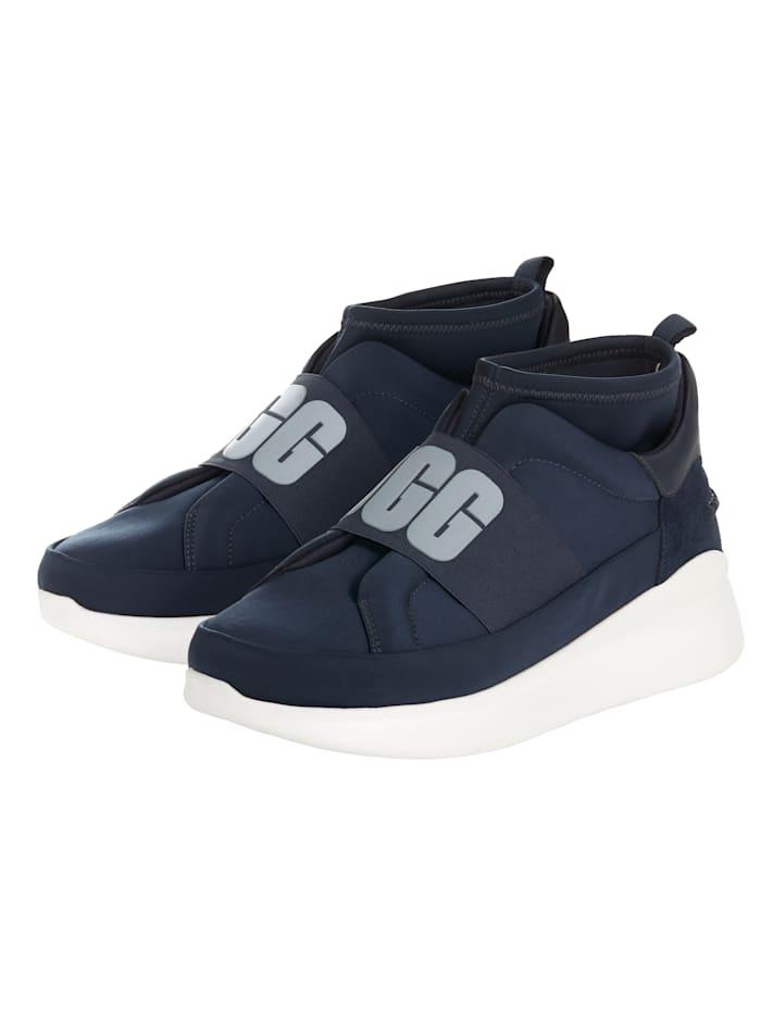UGG Sneaker Neutra Elastisches Bündchen, Blau