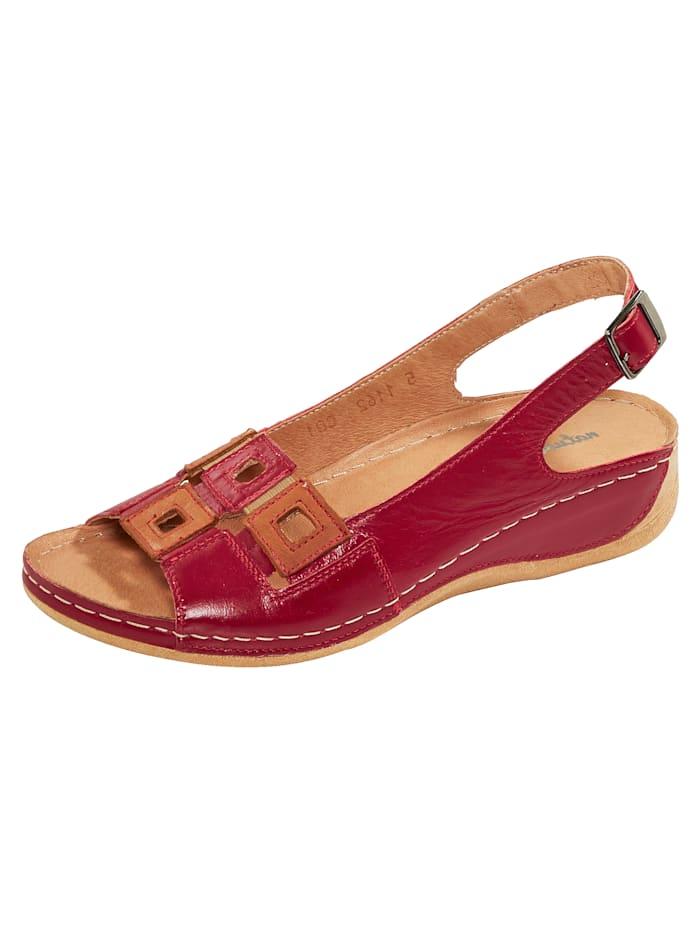 Naturläufer Sandals, Red