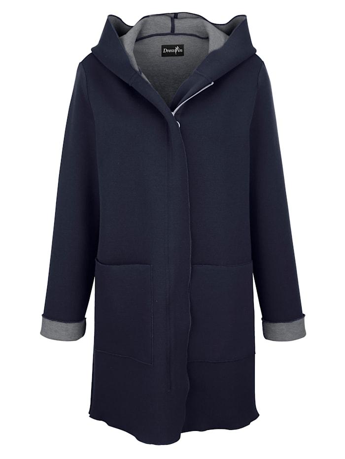 Mantel in gebondeter Ware