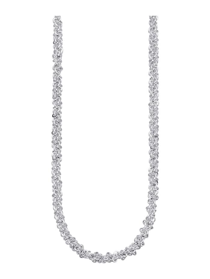 Diemer Trend Halsband i stilren design, Silverfärgad