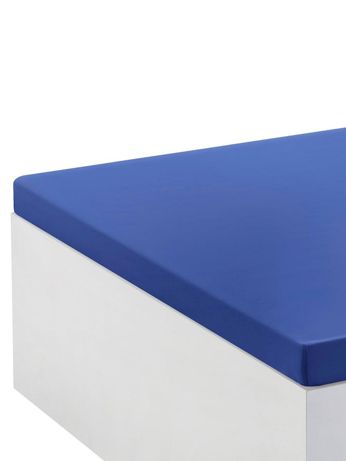 Webschatz Napínacia plachta na topper, Azúrová modrá